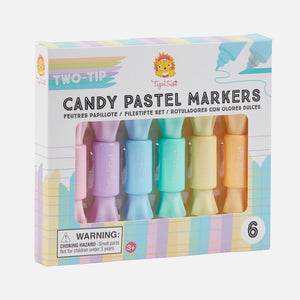 Candy Pastel Markers - Two Tip
