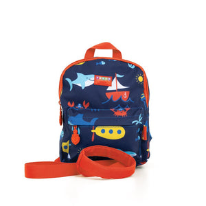 Backpack with Reins - Anchors Away