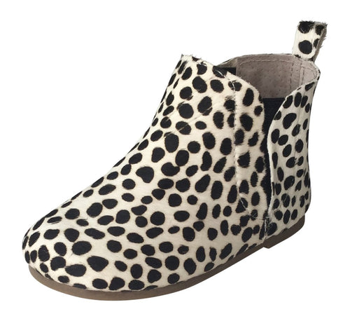 Wild Chase Zulu Boots - Dotted Mohair