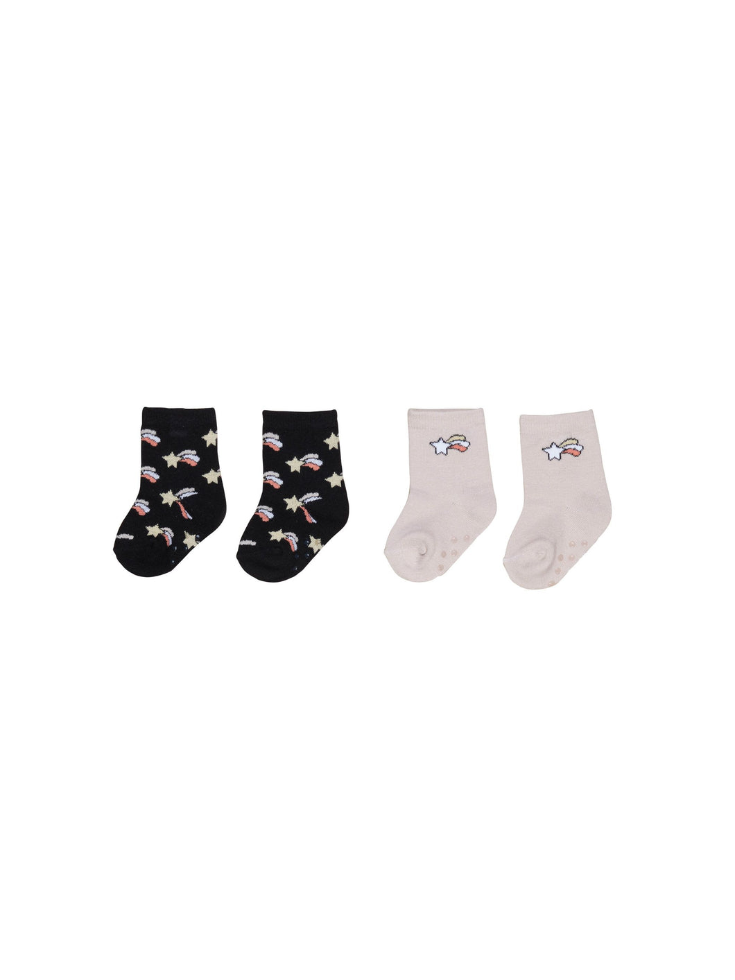 Huxbaby Rose/Starburst 2pk Socks