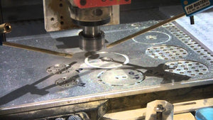 Cutting aluminium on a CNC router or CNC Gantry Mill