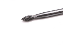 "Carbide Burr- Pointed Tree 1/8""(3mm) Cut 1/8""(3mm) Shank, Dremel Bit 8020"