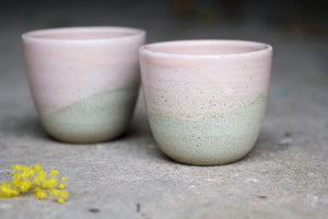 Fairy Floss Pink Ceramic Cup