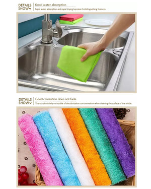 Decontamination rag makes your housework easy(3 for free transport)