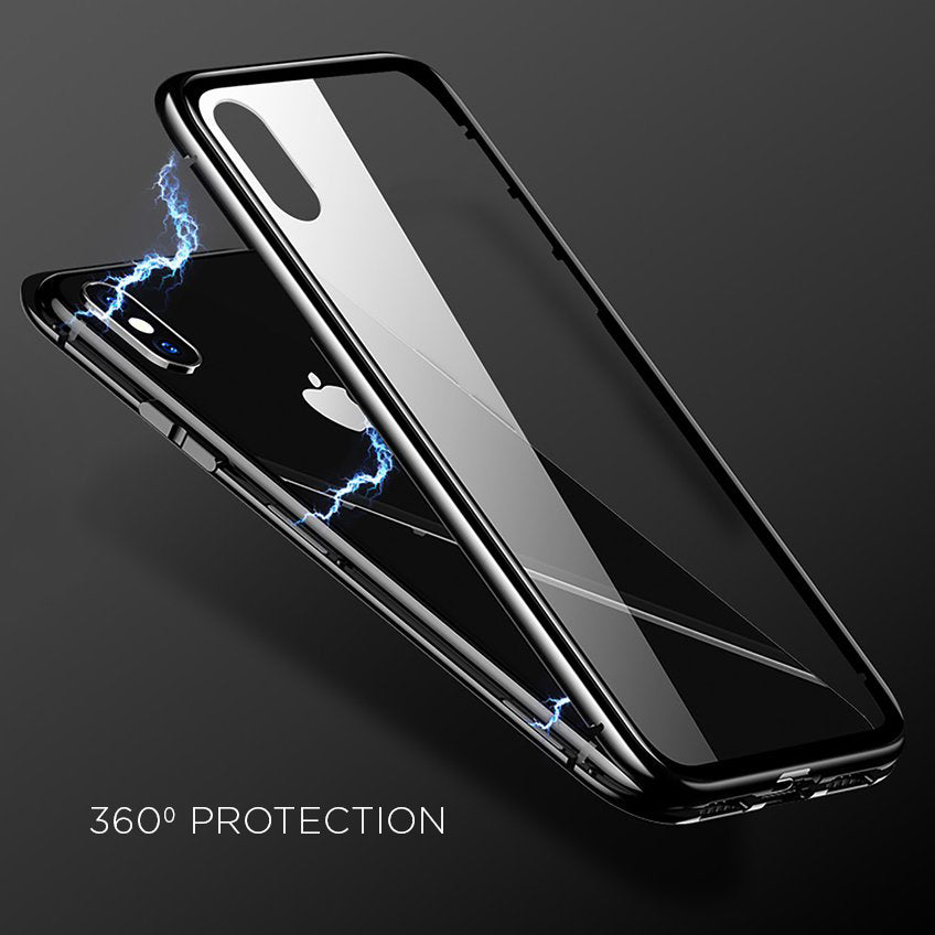 60% OFF</br> LUXURY MAGNETIC METAL PHONE CASE