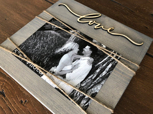 Plank Picture Frame