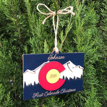 Colorado Ornament - 3 Layer