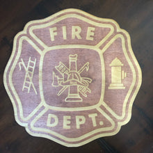 Engraved Fireman Plaque