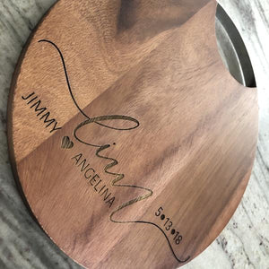 "10"" Customized Cheese Board Cutting Board"
