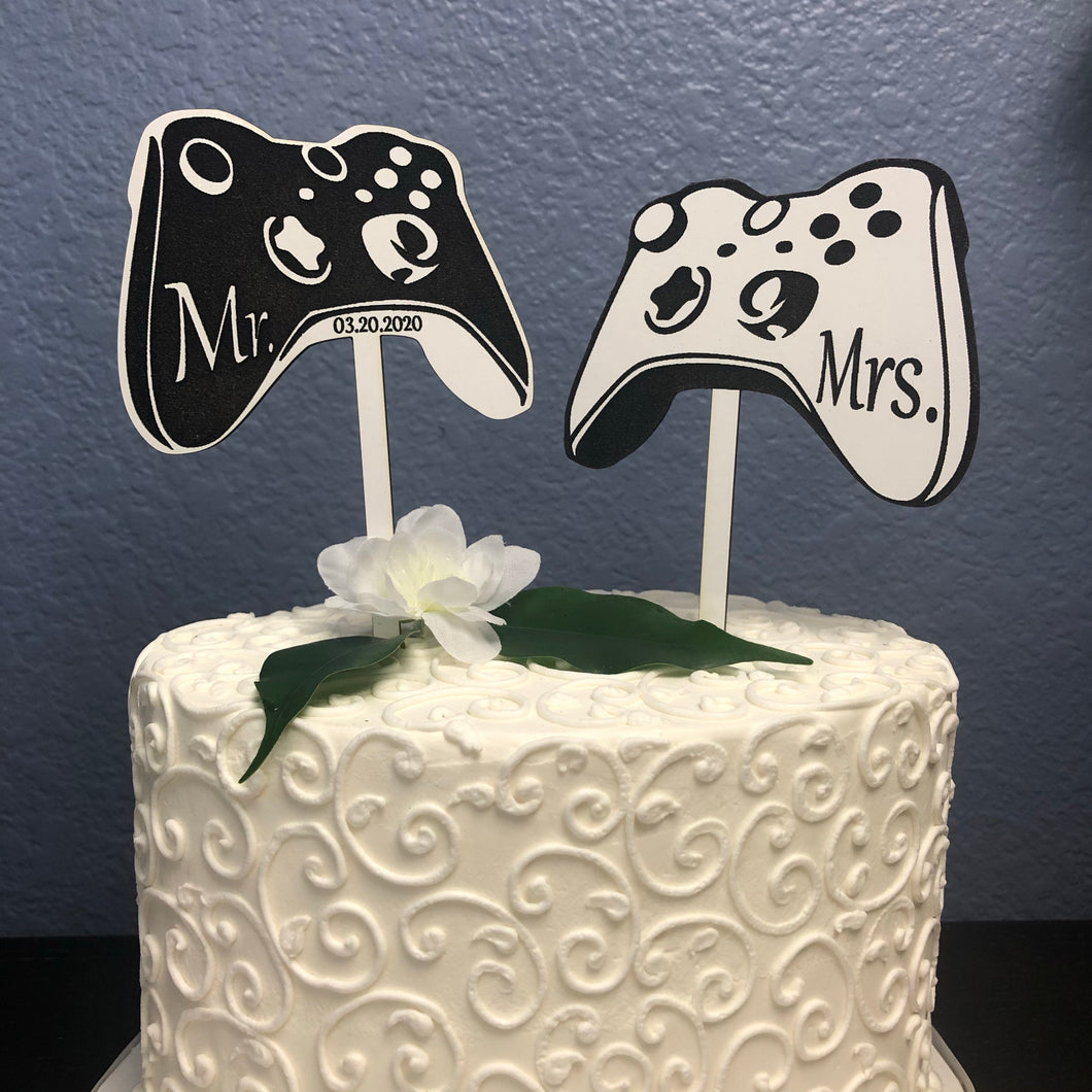 Video Game Cake Toppers