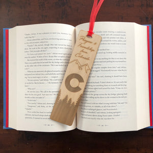 Wood Bookmark (completely customizable)