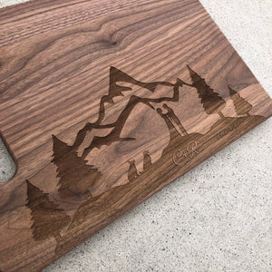 Walnut or Bamboo Cutting Board