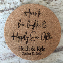 Wedding Favors - Cork Coasters (set of 24)