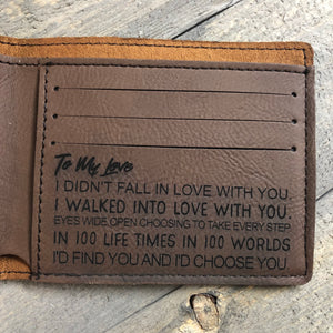 Engraved Wallet (Bifold)
