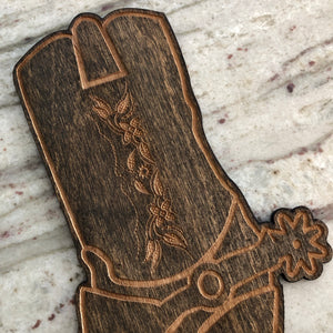 Cowboy Boot Cake Topper
