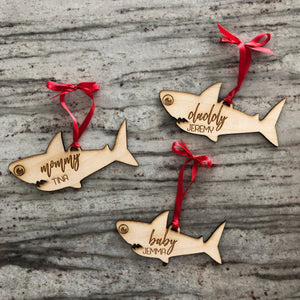 Customized Shark Ornaments