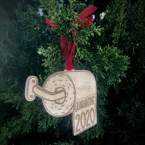 Toilet Paper Quarantine Ornament