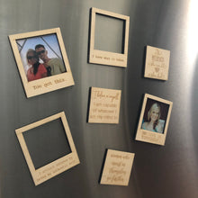 Customizable Magnets (Polaroid and square styles)
