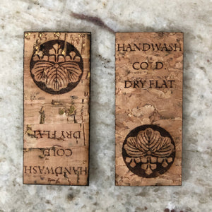 Custom Cork Tags (Knitting or Crochet)