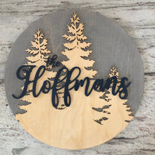 Tree Family Name Board