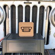 Jeep Grille Cork Coaster (set of 6)