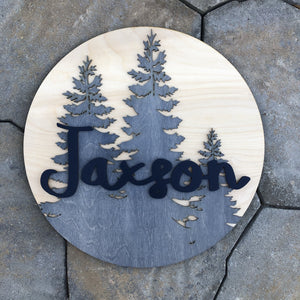 Nursery Sign - Paint/Stain it Yourself