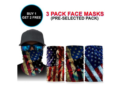 The Freedom Face Mask Pack
