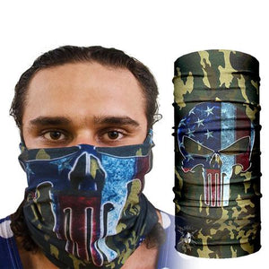 Camo Punisher Face Mask