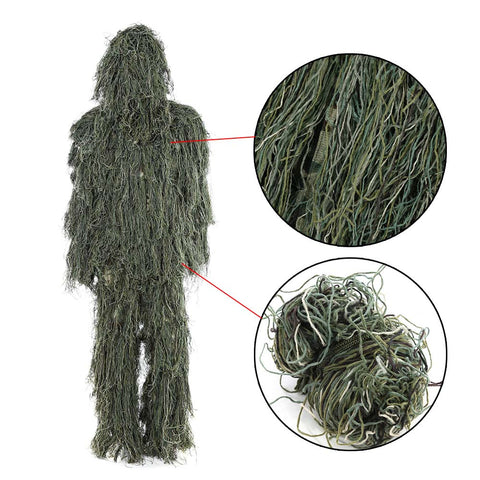Hunting Woodland Ghost Ghillie Suit