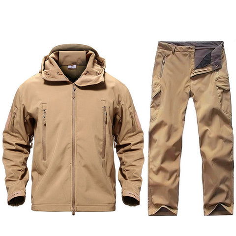 Tactical Waterproof Jacket and Tactical Pants Set
