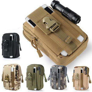 Tactical Molle Pouch Belt Bag