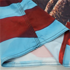 Bold Eagle Freedom Board Shorts