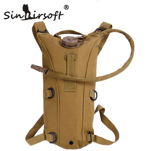 3L Tactical Hydration Backpack Molle Military Outdoor Camping Hiking Camelback Nylon Camel Water Bladder