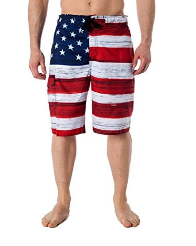 American Flag Board Shorts