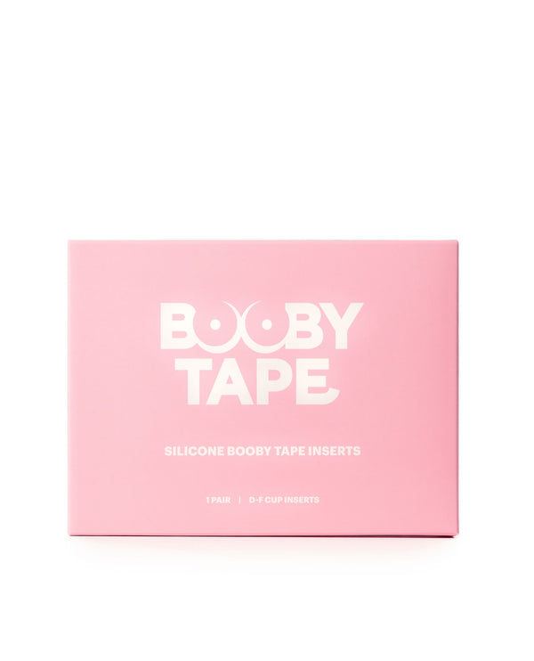 Silicone Booby Tape Inserts (D-F)
