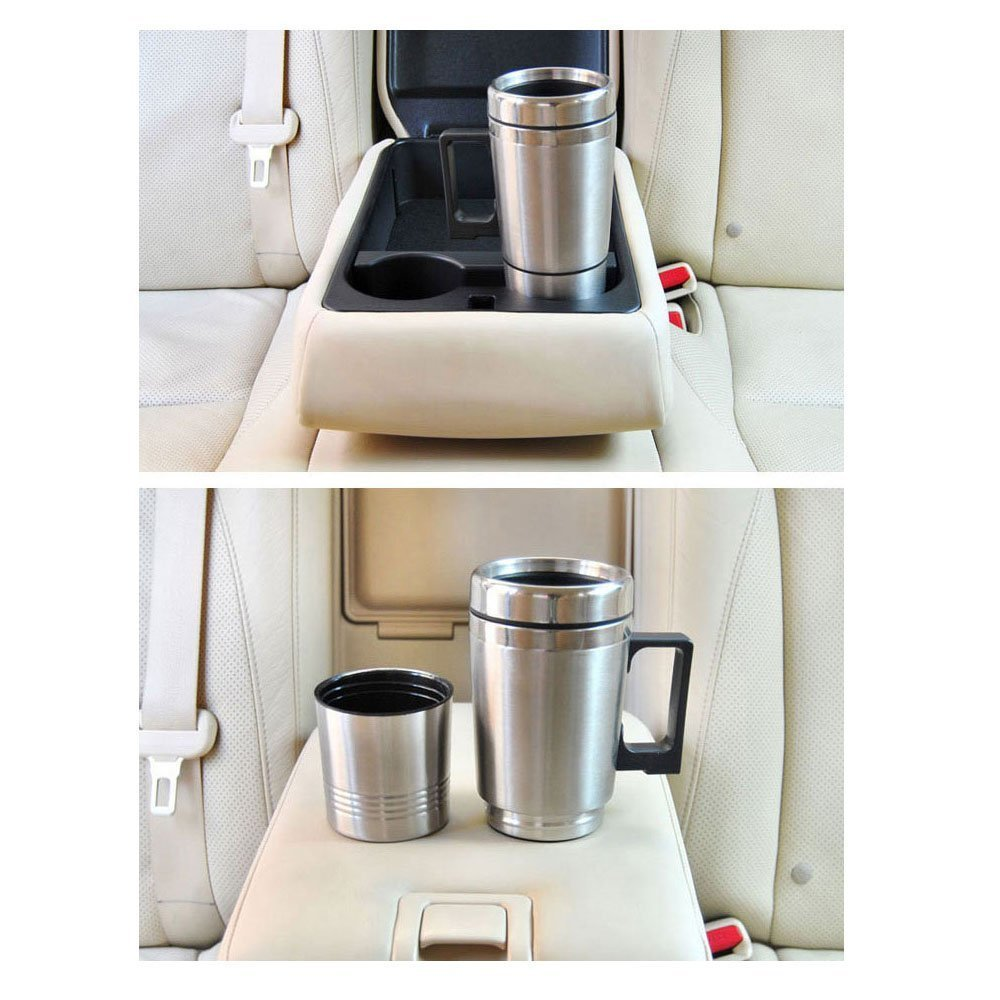 Car Auto Adapter Heated Travel Mug