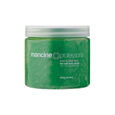 MANCINE KIWI & ALOE HOT SALT SCRUB