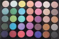 CROWN BRUSH 35 Color Shimmer Eyeshadow Palette