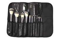 SET 516- CROWN BRUSHES 10 PIECE PROFESSIONAL SYNTHO SET