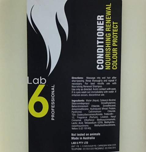 LAB 6 Conditioner Nourishing Renewal Colour Protect 5L