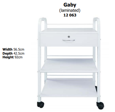 GABY TROLLEY WHITE