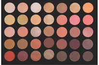 CROWN BRUSH 35 Color Rose Gold Eyeshadow Palette