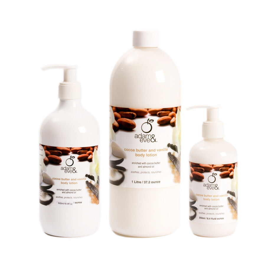 ADAM & EVE Cocoa Butter And Vanilla Body Lotion