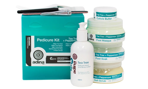 ADINA Pedicure Kit Tea Tree and Peppermint
