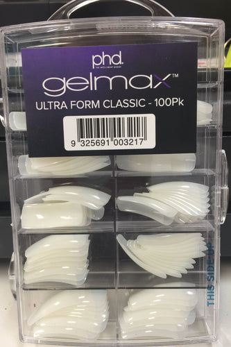 PHD GELMAX ULTRA FORM TIPS 100pk (ADINA)