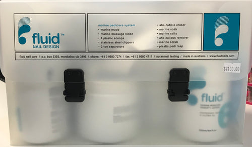FLUID NAIL MARINE PEDICURE SYSTEM KIT