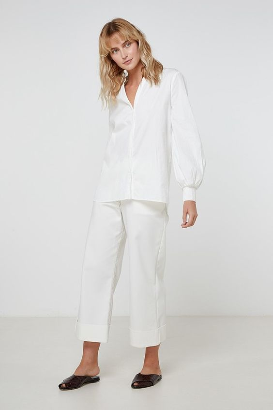 Loria Shirt in White