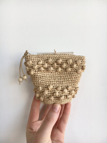 Grace Purse in Natural
