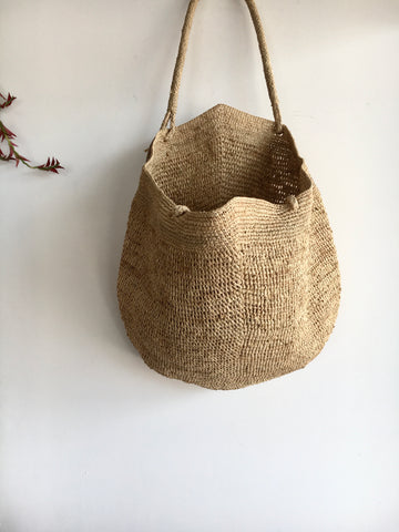 Gemma L Bag in Natural