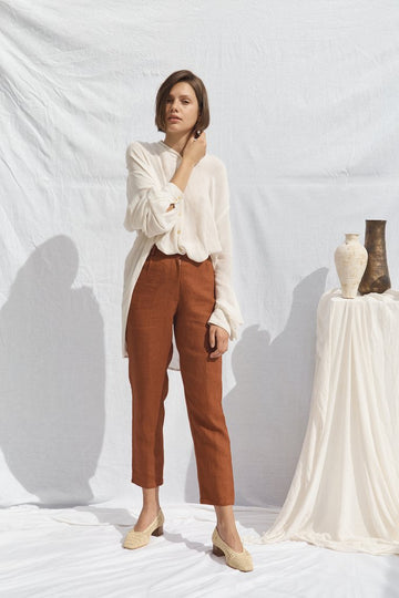 Isabel Pants Ochre